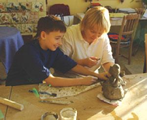 Лепка изразцов и керамических сувениров своими руками