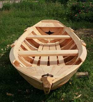 Как сделать лодку из дерева своими руками